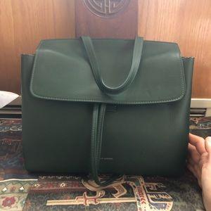 Mansur Gavriel Mini Lady bag in Calf leather Moss